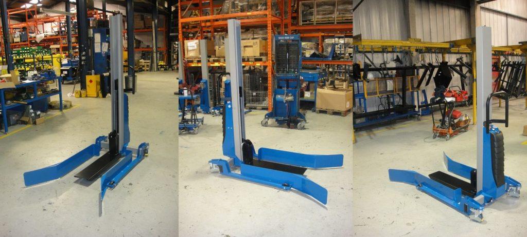 Polymer Logistics Bespoke Stacker Solution