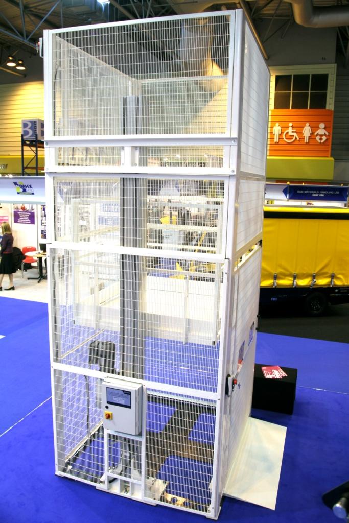 Mezzanine Goods Lifts Advanced Handling