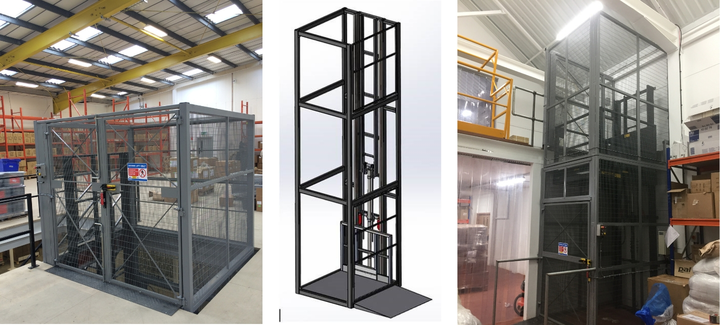 Heavy Duty Mezzanine Goods Lift