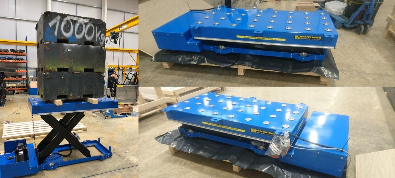 Howden Engineering Scissor Lift Tables