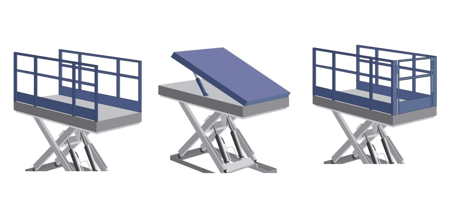 Different load platforms