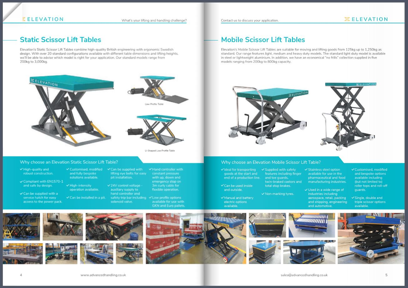 New Advanced Handling Brochure