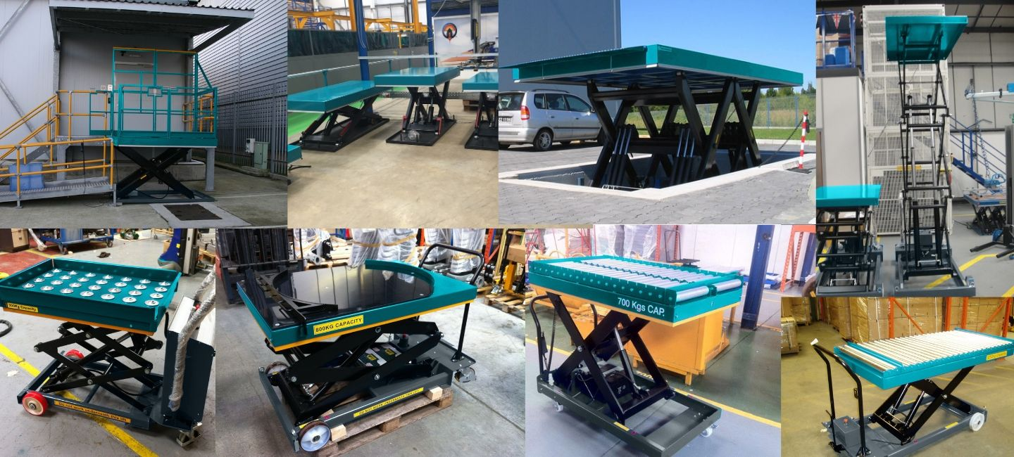 Elevation Static Scissor Lift Table Banner