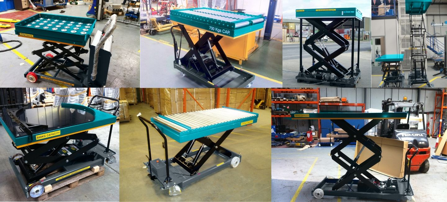 Mobile Scissor Lift Table Banner