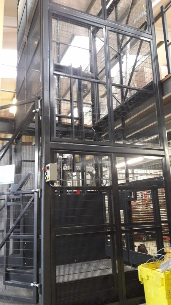 Getley Mezzanine Goods Lift
