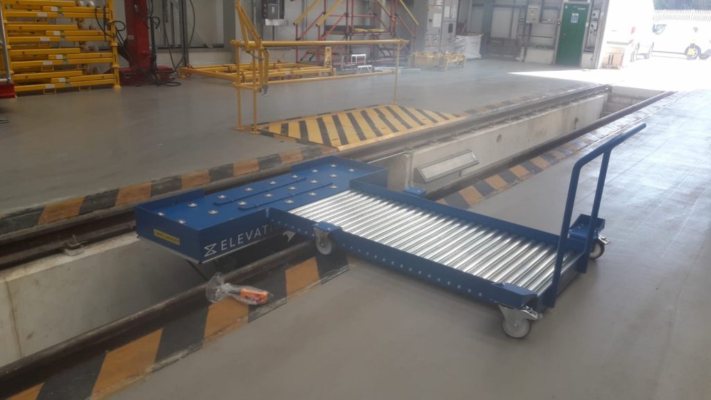 Depot rail configuration 2