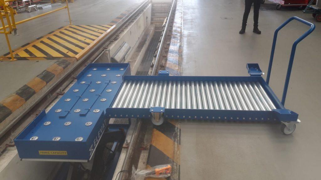 Depot rail configuration 1
